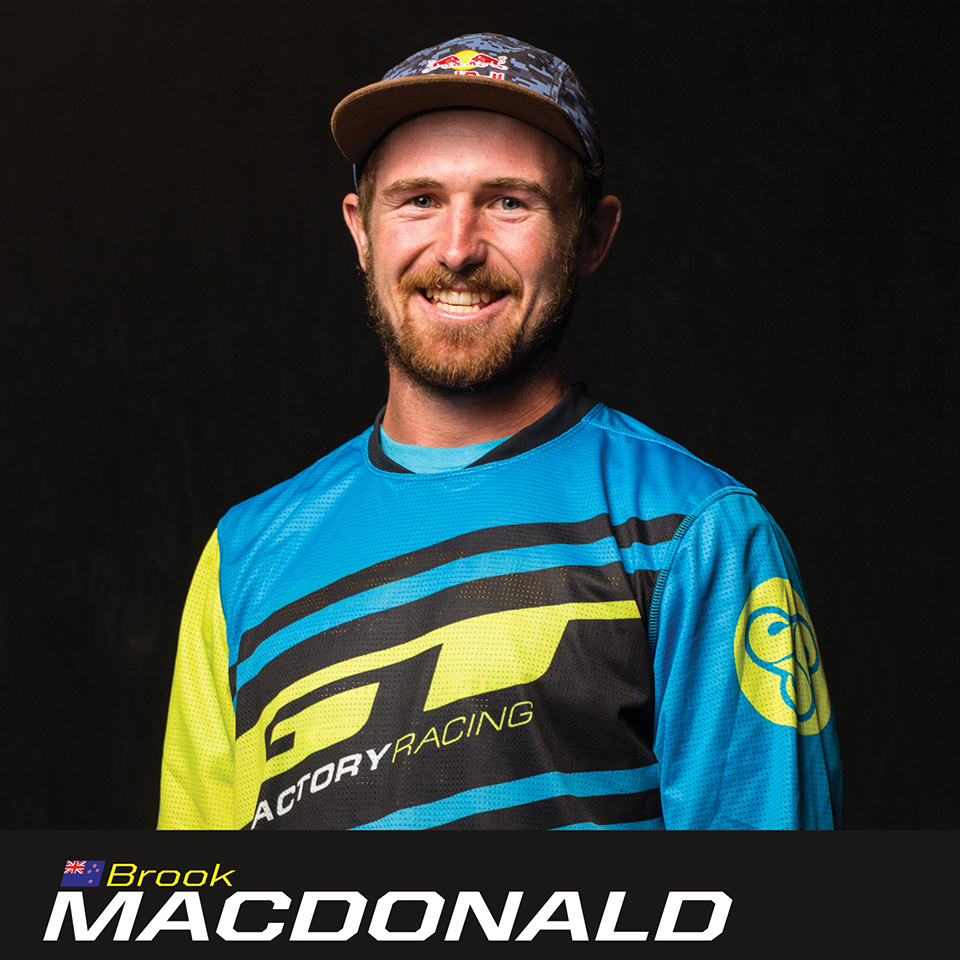 GT Factory Racer Brook Macdonald, sponsored by Sombrio