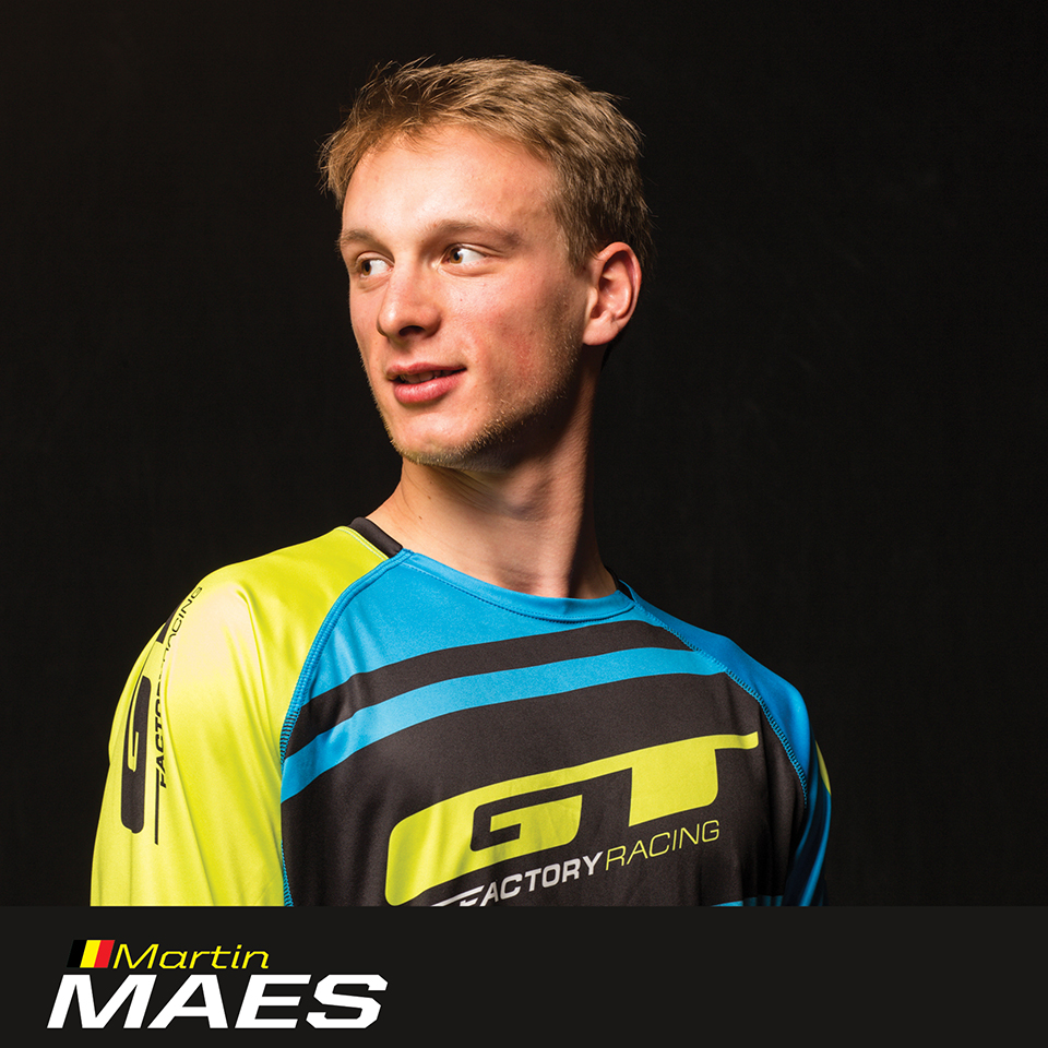 GT Factory Racer Martin Maes, sponsored by Sombrio