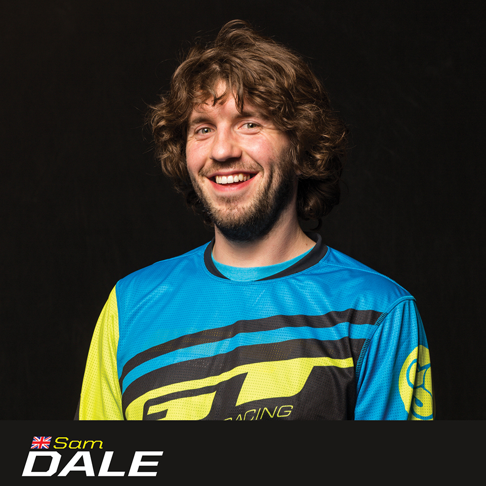 GT Factory Racer Sam Dale, sponsored by Sombrio