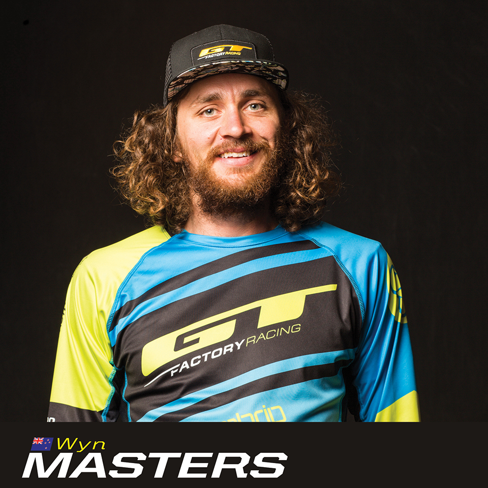 GT Factory Racer Wyn Masters, sponsored by Sombrio