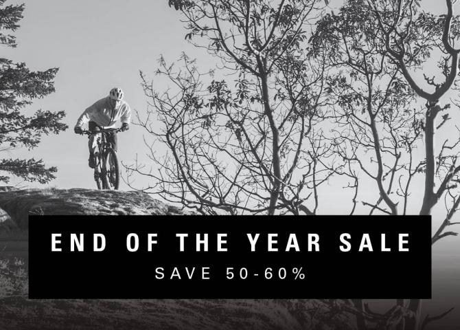 Save up to 60% at our End of Year Boxing Week Sale